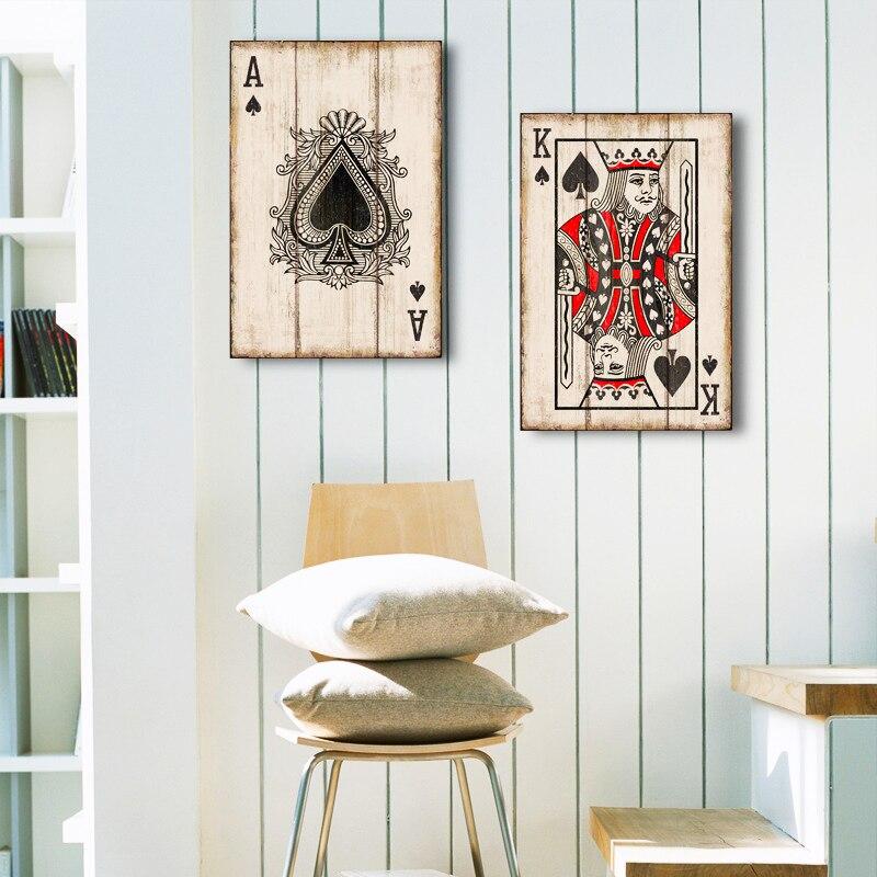 Jeux de cartes décoration