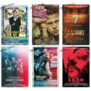 Affiches Film Plaque métallique